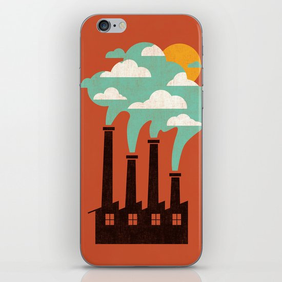 The Cloud Factory iPhone & iPod Skin