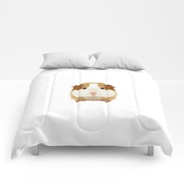 Guinea Pig Dad Daddy Father Rodent Wheek Gift Idea Comforters
