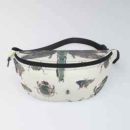 Collection of Insects Fanny Pack