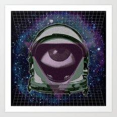 Space Eye Art Print