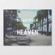 Boardwalk to Heaven Canvas Print