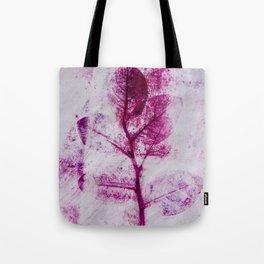 Pretty Plum Leaves  Tote Bag