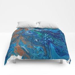 Mermaid Marble Comforters