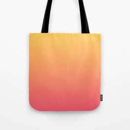Ombre Pink Gold Tote Bag