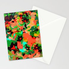 ALL FOR FLOWERS- GREEN Stationery Cards