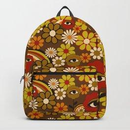 Flower Third Eye Backpack