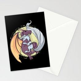 Dragon and Unicorn | Loving Embrace Stationery Cards