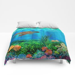 UnderSea with Turtle Comforters