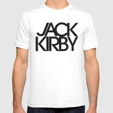 Classic : Jack Kirby Mens Fitted Tee White MEDIUM