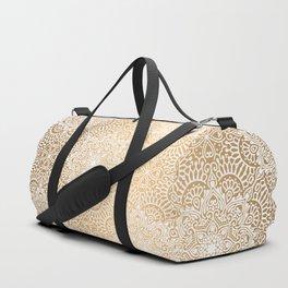 Gold Mandala 18 Duffle Bag