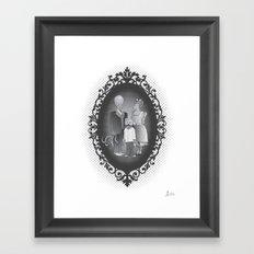 Framed family portrait Framed Art Print