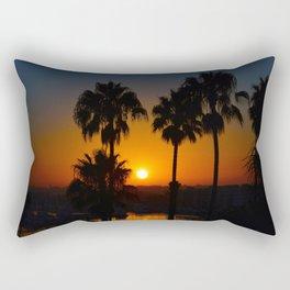 California Sunset Rectangular Pillow