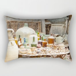 Market Djerba Tunisia Rectangular Pillow