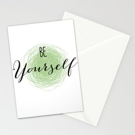 Be Yourself Art Print, Typography Art Print, Motivational Quote, Minimalist Art, Kids Room Art Print, Children Art Prints, Nursery Decor, Playroom, Inspirational, Quote, Text, Sign, Baby Room, Typographic Art, Quote Prints, Be Yourself Stationery Cards
