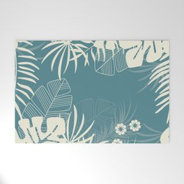Tropical pattern 047 Welcome Mat