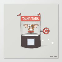 Dunk Gizmo Canvas Print