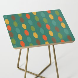 Colima - Teal Side Table