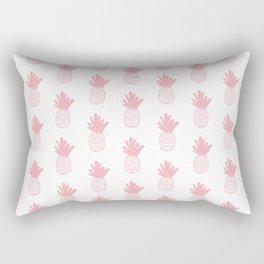 Coral Pineapple Pattern 2 Rectangular Pillow