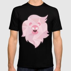 Lion - Steven Universe SMALL Black Mens Fitted Tee