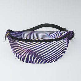 0727s-MM_4649 in Blue Sensual Striped Strong Woman's Torso Back Butt Fanny Pack