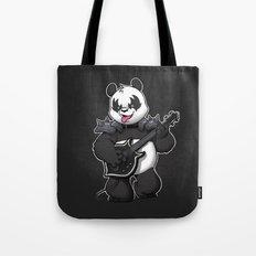 Heavy Metal Panda Tote Bag