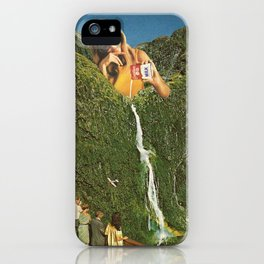 Milky Falls iPhone Case