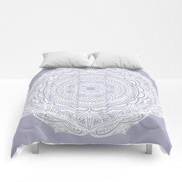 Dedication to Lucy (purple) Comforters