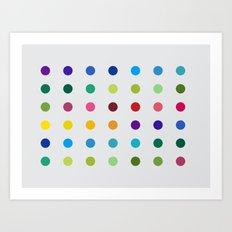 Geometric - Landscapes 3/4 Art Print