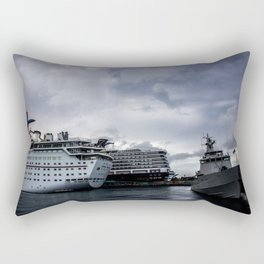 Port of Call...Nassau Rectangular Pillow