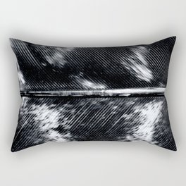 Black and White Feather | Feathers | Spiritual | Nadia Bonello | Canada Rectangular Pillow