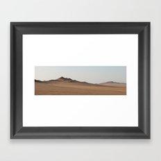 Península de Paracas, Perú Framed Art Print