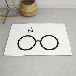 Glasses and Scar Rug