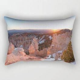 Bryce Canyon Sunrise Rectangular Pillow