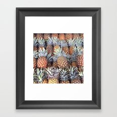 Off to Market Framed Art Print