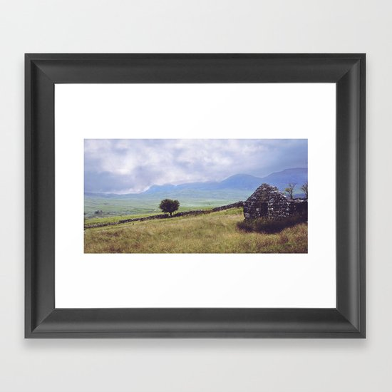 Rural Ruin Framed Art Print
