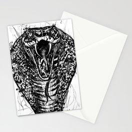 COBRA ink portrait Stationery Cards