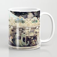 forever young Mugs featuring Forever Young by farsidian