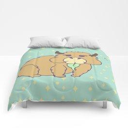 S'up Cute Capybara Comforters