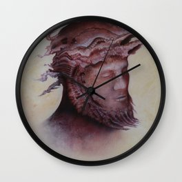 Shroud of Turin Wall Clock