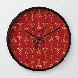 KAUST Beacon Star Pattern  Wall Clock