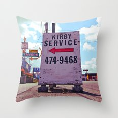 Kirby Service Throw Pillow