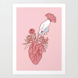 Water it Art Print