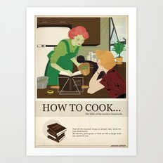 Villains Housewives (English) Art Print