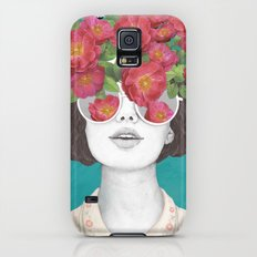The optimist // rose tinted glasses Slim Case Galaxy S5