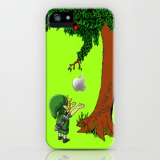Link Zelda with an apple tree iPhone 4 4s 5 5c, ipod, ipad, pillow case tshirt and mugs iPhone (5, 5s) Slim Case