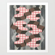 lots of ladies like to party Art Print