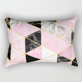 Geometric 964 // Sweet Peony Rectangular Pillow