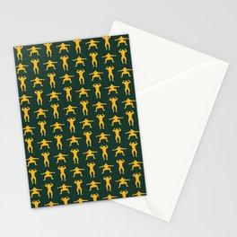 Clay Calisthenics Stationery Cards