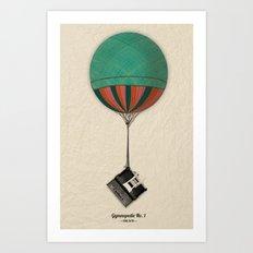 Gymnopedie No.1 - Erik Satie Art Print