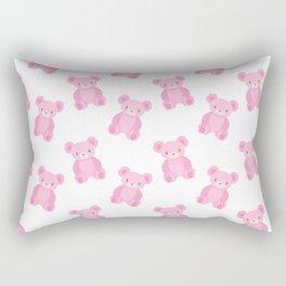 Pink Teddy Bears Rectangular Pillow